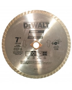 DEWALT DW4712 High Performance 7-Inch Diamond Blade