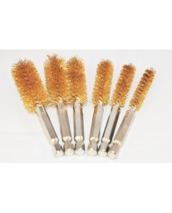 Brass Wire Brush- 6 Available Sizes