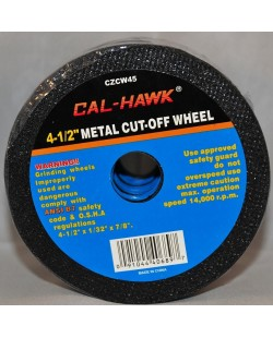 "4 1/2"" Metal Cut Off Wheels"