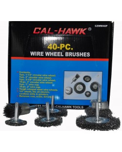 40 Piece Assorted Wire Wheel Brushes